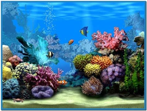 wallpaper aquarium mac living marine aquarium 2 screensaver mac download free