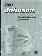 2003 St 4 Stroke 9 9 15hp Johnson Outboards Service Manual