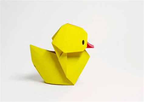 How To Make A Duck Out Of Paper - origami duckling by htquyet on deviantart