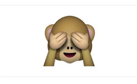 imagenes del emoji del mono curiosidades de los emoticonos de whatsapp en las que