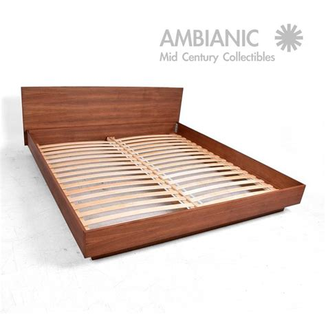 Teak King Platform Bed Danish Modern For Sale At 1stdibs Teak Platform Bed Frame