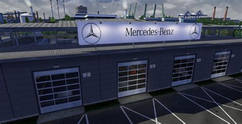 How Big Should A Garage Be For 2 Cars by Garage Truck Simulator 2 Mods Ets2downloads
