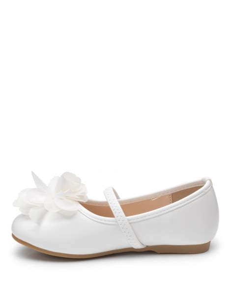 flower shoes white bridesmaid white shoes white flower shoes