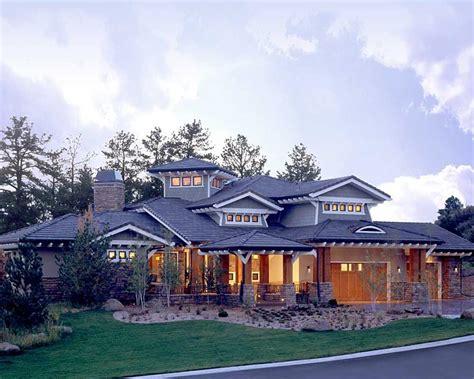 craftsman prairie style southwest house plan