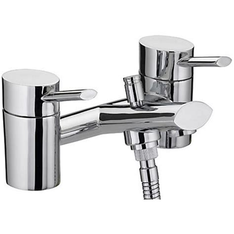 homebase bathroom taps bristan oval bath shower mixer tap