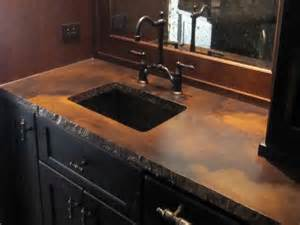Kitchen Cabinet Staining - concrete vanity top concrete countertops and floors pinterest