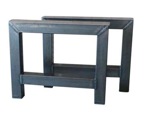 tafel onderstel staal tafel onderstel staal a melle vanlonden steigerhout