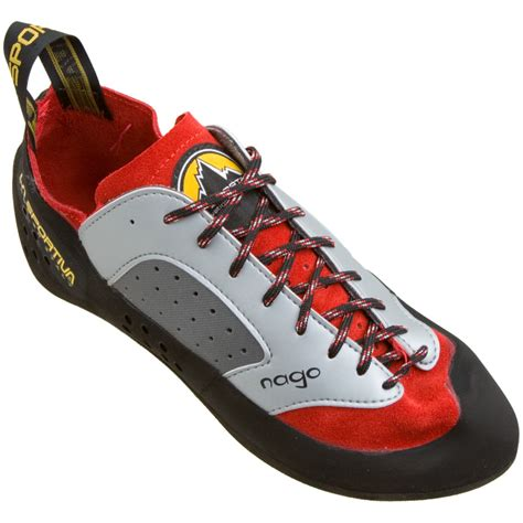 rock shoes la sportiva nago climbing shoe discontinued rubber