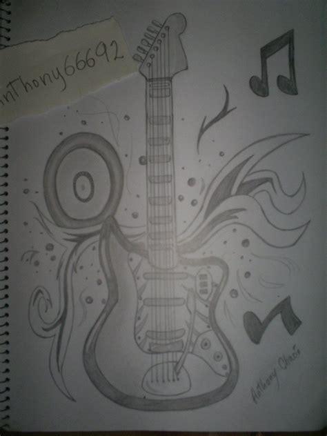 imagenes a lapiz musica dibujos hechos por anthony66692 taringa