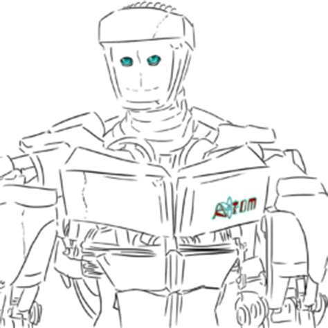 noisy boy coloring page noisy boy real steel drawing met sketch coloring page