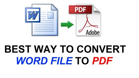 convert pdf to word no sign up how to convert word file to pdf 2015 youtube
