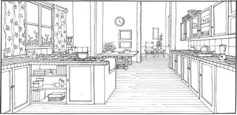 Kitchen Design Sketch Kitchen Sketch By Arquitectcardesigns On Deviantart