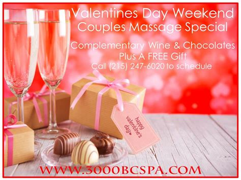valentines weekend packages february specials at 3000 bc wellmed spa chestnut hill