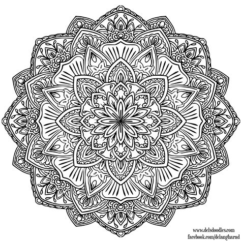 mandala coloring pages art is fun image gallery mandala