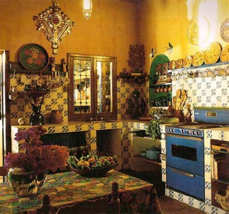Mexican Kitchen Designs Mexican Kitchens Are The Most Beautiful In The World The Colors Patterns And Warmth Move Me