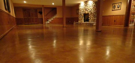 prepping to stain concrete in the kitchen how to prepare stain and seal any concrete floor in six