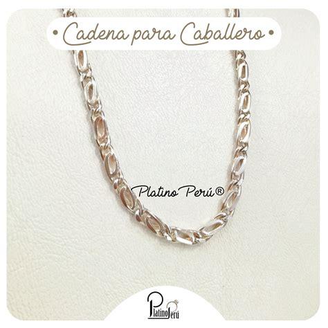 cadenas de plata para hombre peru cadenas para el platino per 250
