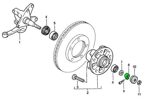 1989 porsche 928 manual transmission hub replacement diagram buy porsche 911 912 1965 1989 911 turbo 3 3l 1978 89 wheel hub carrier design 911