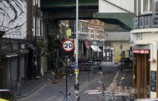 Parking Wardens Ticket Cars After Borough Market Attack