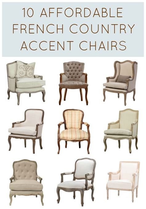 gorgeous accent chair for living room 10 types of chairs with regard 10 affordable french country chairs under 500 style