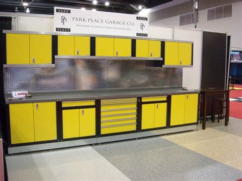 Metal Cabinets For Garage Storage by Stainless Steel Garage Cabinets Storage System