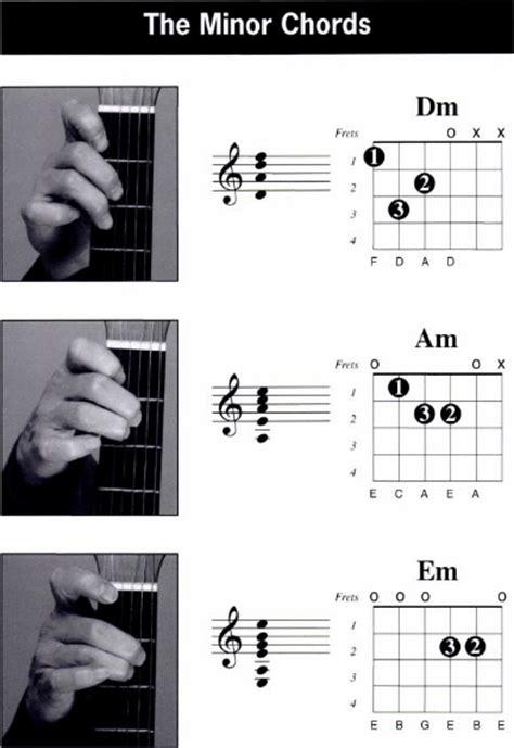 belajar kunci gitar tangan panduan chord gitar dengan tangan kiri left hand chord