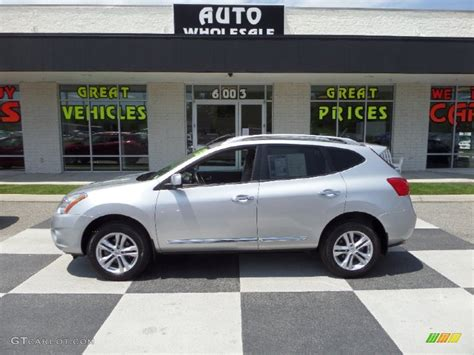 2013 silver nissan rogue 2013 brilliant silver nissan rogue sv 103937894
