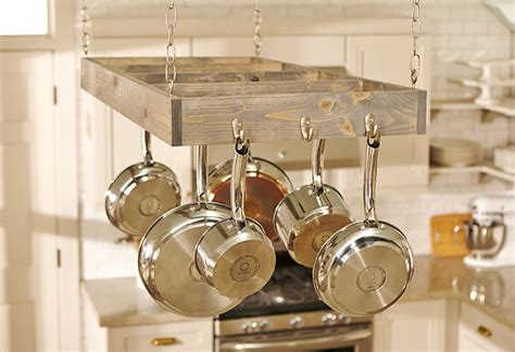 how to make kitchen rack at home kitchen pot rack project