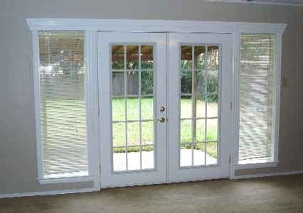 Odl Blinds Hinged Patio Doors
