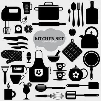 imagenes vectores cocina utensilios de cocina fotos y vectores gratis