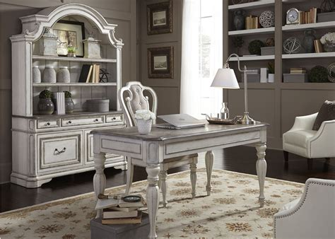 antique white home office furniture magnolia manor antique white home office set 244 ho107