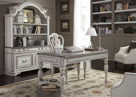 antique white home office furniture magnolia manor antique white home office set 244 ho107