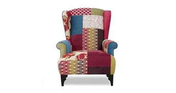 Online Sofa Beds Shout Small High Back Wing Chair Shout Patchwork Dfs Ireland