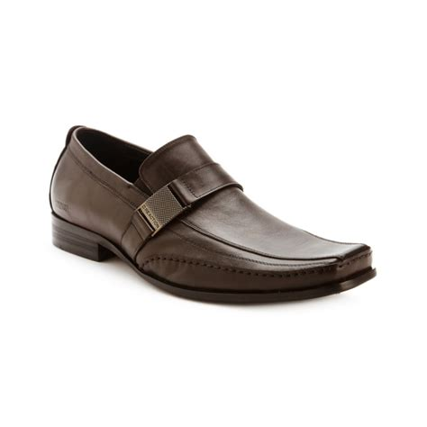 kenneth cole mens loafers kenneth cole reaction money side bit loafers in brown