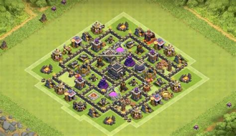 layout design th7 6 epic th7 war base layouts farming base layouts for 2016