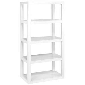 home decorators collection parsons 62 in x 30 in 4 shelf