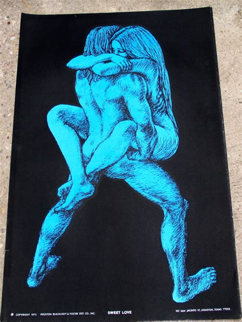 1970 black light posters vintage 1970 s houston blacklight poster co sweet