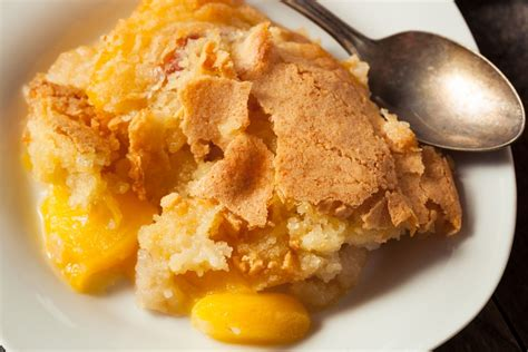 peach cobbler peach cobbler recipe epicurious com