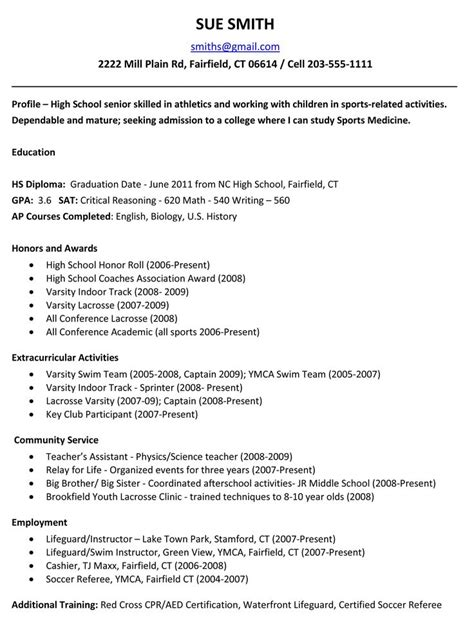 resume writing for highschool students resume for study