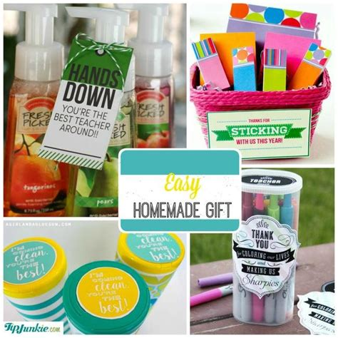 Thank You Gifts For Teachers Handmade - 30 thank you gifts tip junkie