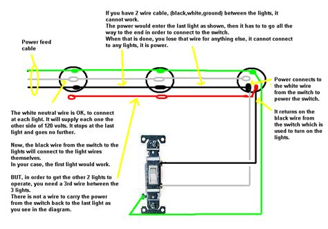 wiring 3 lights to one switch diagram 37 wiring diagram