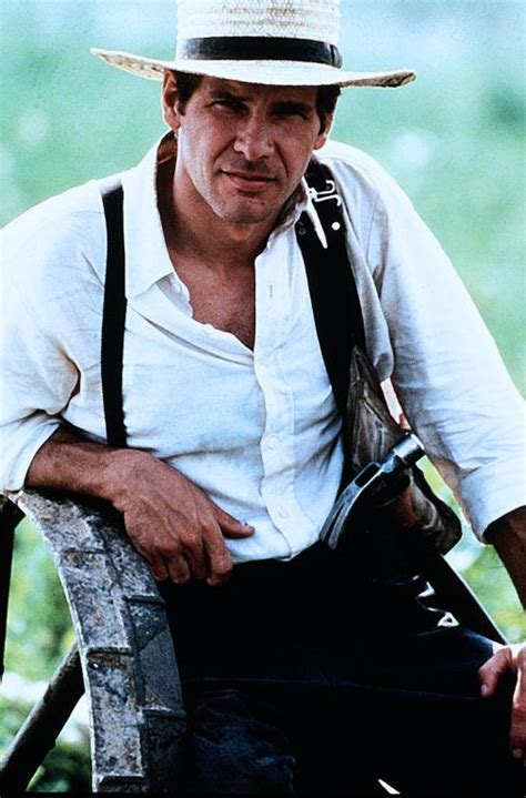 Harrison Ford Amish by Those Classic Witness 1985