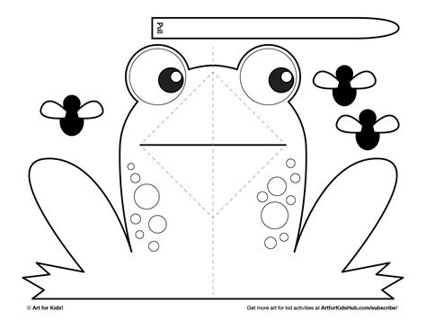 free printable pop up card templates easy pop up frog for hub