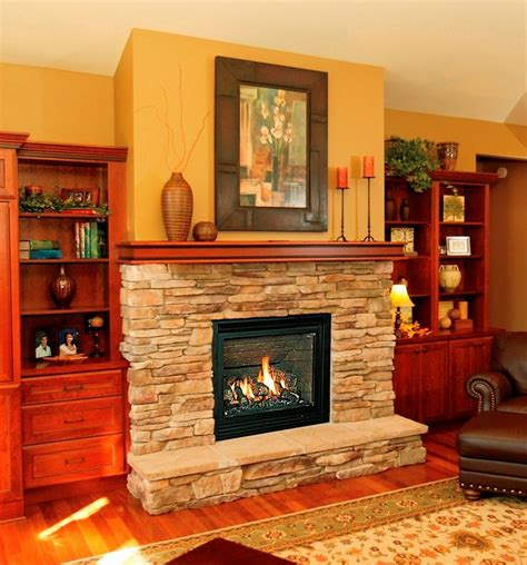 Raised Hearth Fireplace by Hearth Topper Slabs Fireplace Makeover Ideas