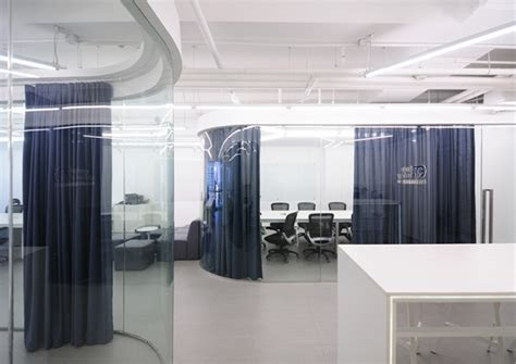 conference room curtains exotropy technology office by spejs beijing china
