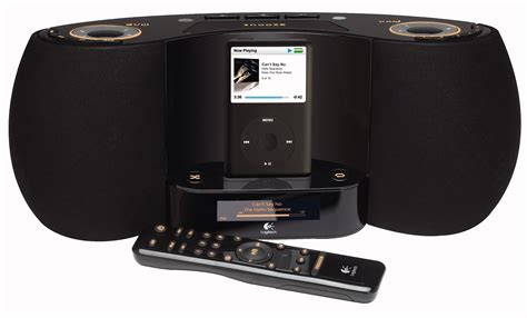 logitech pure fi dream premium bedroom music system for ipod