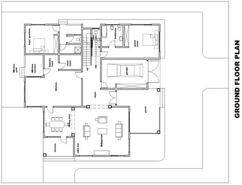 in ground home plans ghana house plans torgbii house plan ground plan