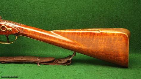 Handmade Flintlock Rifles - custom no maker s name 62 caliber smooth bore flintlock