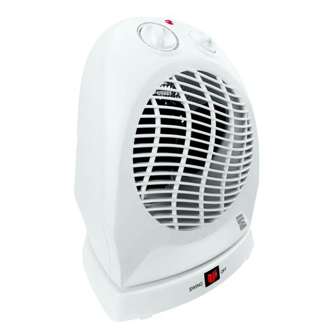 oscillating fan and heater kenmore 92050 oscillating fan forced heater white shop