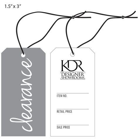 tag furniture custom printed price tags hanging price tags st louis tag